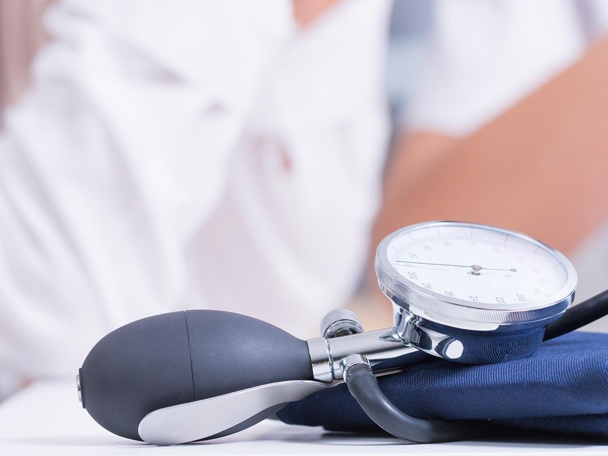Blutdruckmessung Internist Dr. Walter Gritsch Dr. Sonja Lang Praxis Innsbruck und Fulpmes
