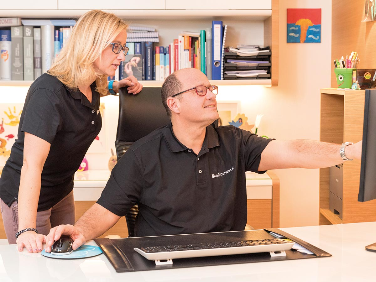 Gesunden- und Vorsorgeuntersuchung Internist Dr. Walter Gritsch Dr. Sonja Lang Praxis Innsbruck und Fulpmes