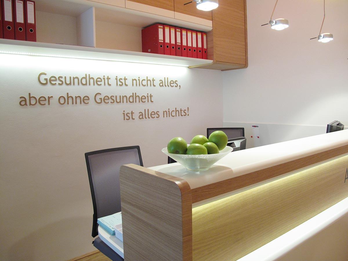 Praxis Innsbruck Internist Dr. Gritsch Dr. Lang Facharzt für Innere Medizin Allgemeinmedizin Empfang