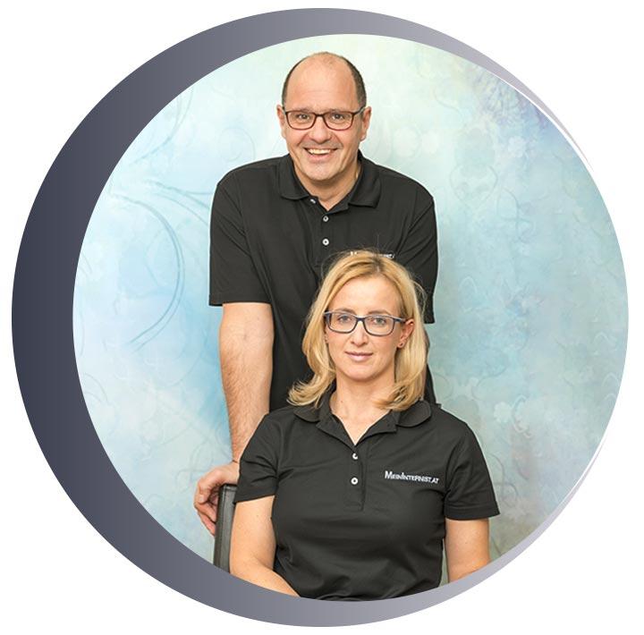 Team Internisten Dr. Walter Gritsch Dr. Sonja Lang Praxis Innsbruck und Fulpmes